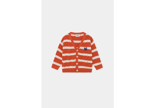Bobo Choses Bobo Choses striped knitted cardigan