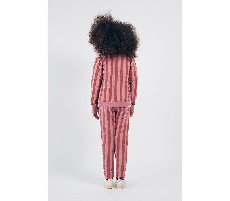 Bobo Choses dancing legs zipped sweatshirt