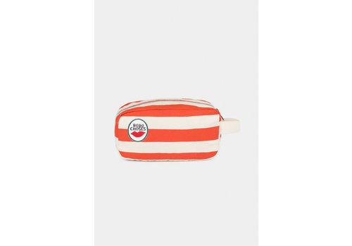 Bobo Choses Bobo Choses red stripes pouch