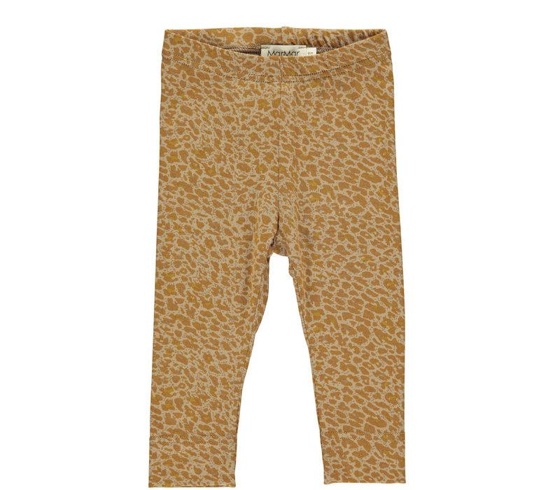MarMar Copenhagen Leopard Pants / Leg Pumpkin Pie