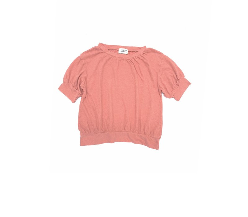 Long Live The Queen Puff Tee Pink