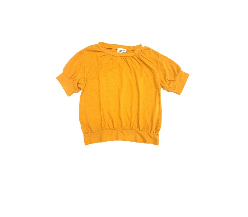 Long Live The Queen Puff Tee Yellow