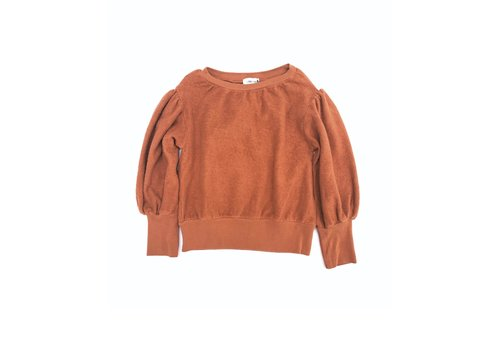 Long Live the Queen Long Live the Queen Terry Sweater rust
