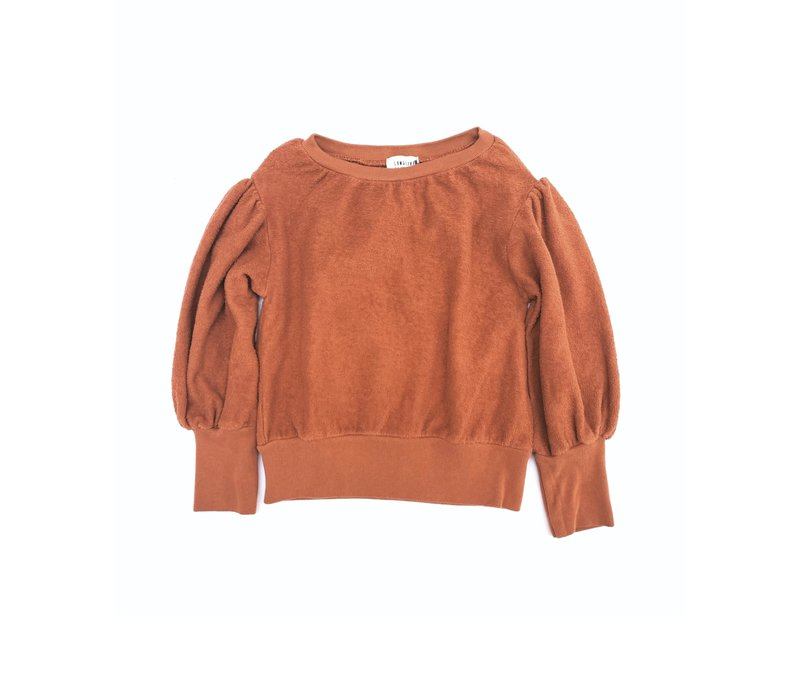 Long Live the Queen Terry Sweater rust