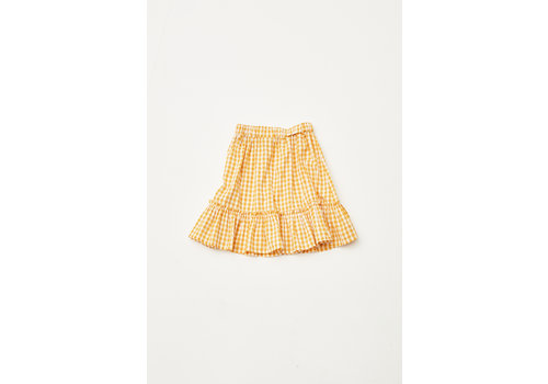 The Campamento The Campamento TC-SS20-34 CHECKED SKIRT