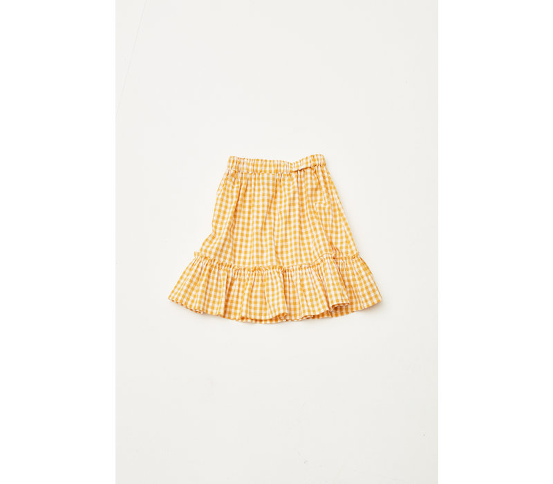 The Campamento TC-SS20-34 CHECKED SKIRT