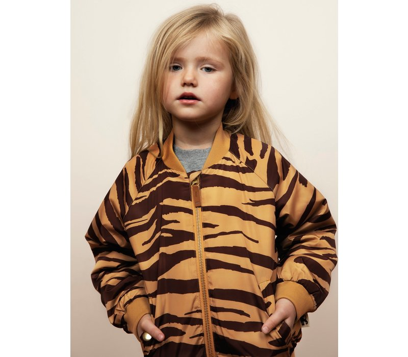 Mini Rodini Tiger baseball jacket