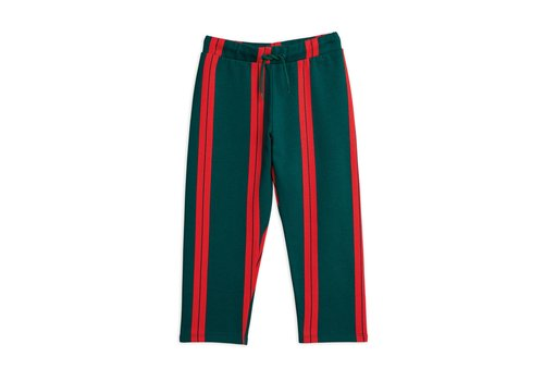 Mini Rodini Mini Rodini Stripe Sweatpants green