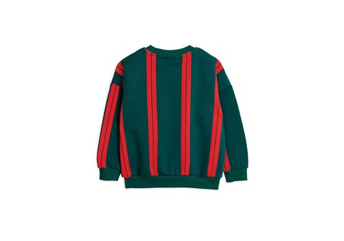 Mini Rodini Mini Rodini Stripe Sweater green
