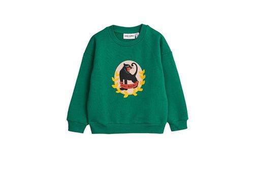Mini Rodini Mini Rodini Badge SP Sweater green