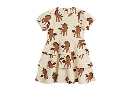 Mini Rodini Mini Rodini Unicorns aop dress