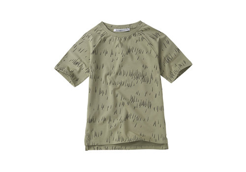 Mingo Mingo T-shirt Grass Print Oak
