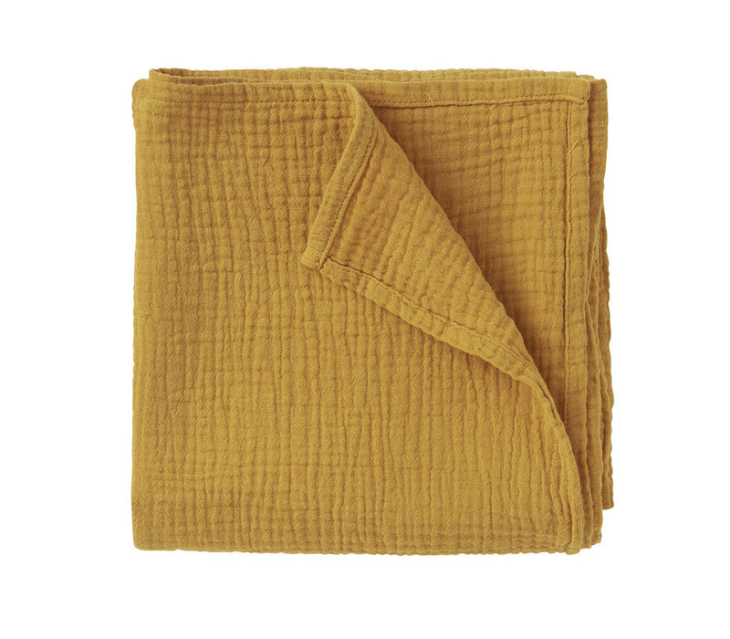 Mingo Swaddle Spruce Yellow