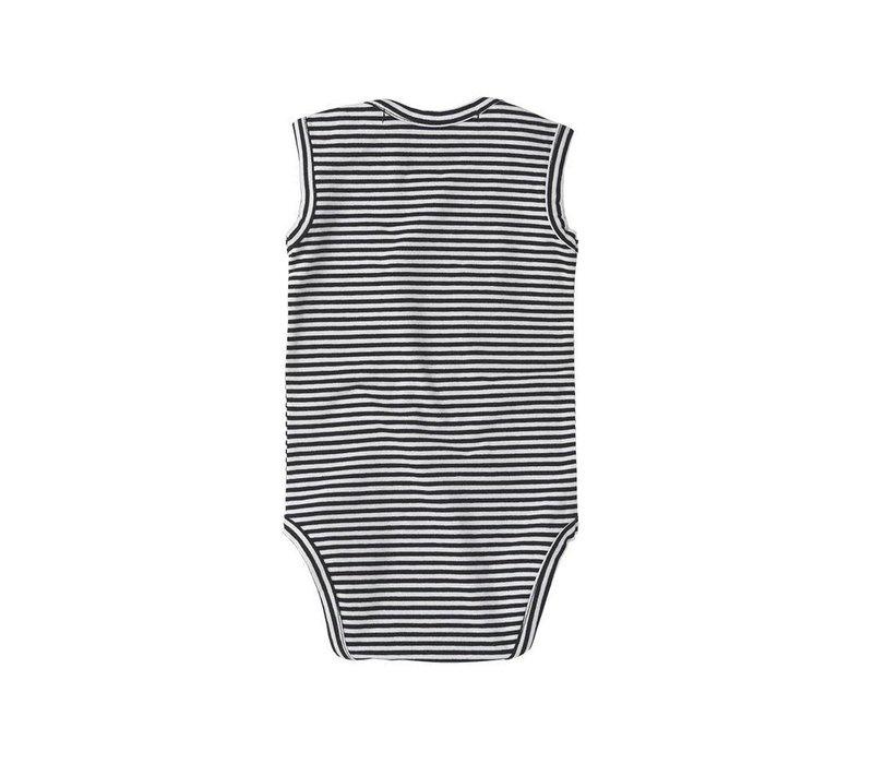 Mingo Bodysuit Sleeveless stripes