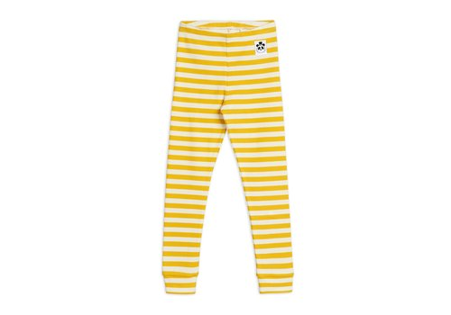 Mini Rodini Mini Rodini Basic Leggings Rib stripe