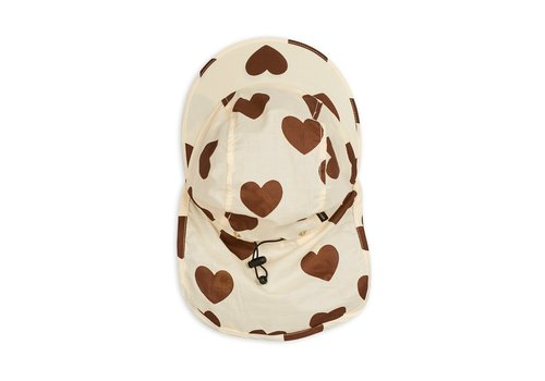 Mini Rodini Mini rodini Hearts Sun hat