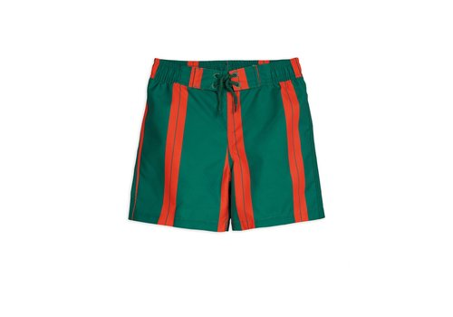 Mini Rodini Mini Rodini Stripe Swimshorts green