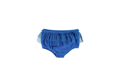 PIUPIUCHICK Piupiuchick High waisted shorties w/ tulle