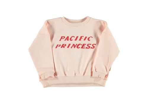 PIUPIUCHICK Piupiuchick Unisex sweater pale pink w/ print