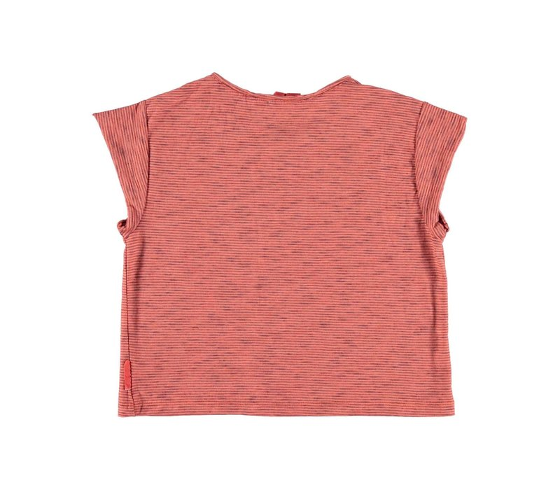 Piupiuchick buttoned t'shirt red