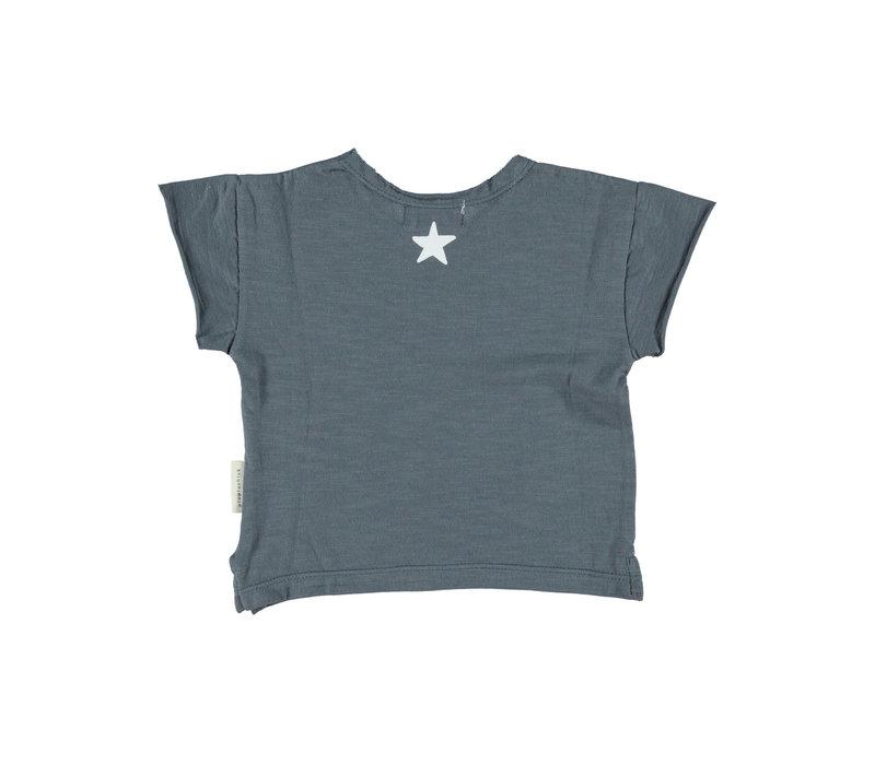 Piupiuchick logo t-shirt grey
