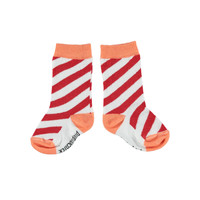 Piupiuchick socks red & coral