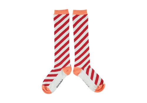 PIUPIUCHICK Piupiuchick socks red & coral