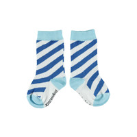 Piupiuchick socks indigo blue and mist blue
