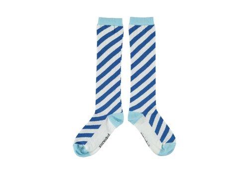 PIUPIUCHICK Piupiuchick socks indigo blue and mist blue