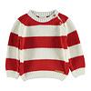 PIUPIUCHICK Piupiuchick knitted sweater red & white