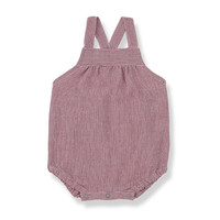 1+ in the Family Tropea Onesie red