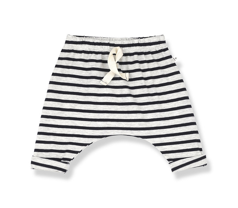 1+ in the Family Sammy Pants Stripe Blue notte