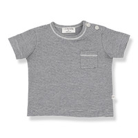 1+ in the Family Cadaques t-shirt Blue notte