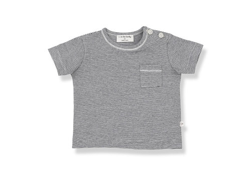 1+ IN THE FAMILY 1+ in the Family Cadaques t-shirt Blue notte