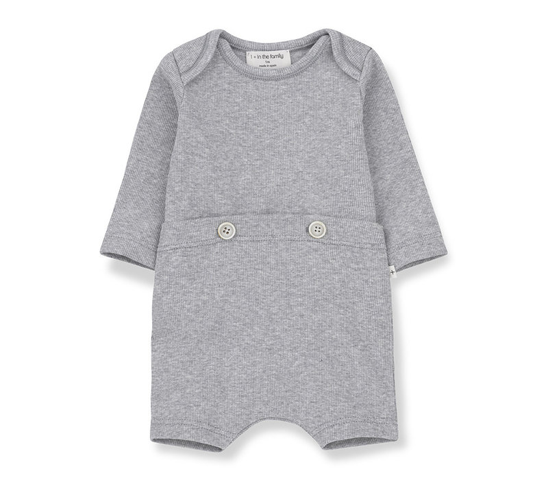 1+ in the Family Bono jumpsuit Grey melange