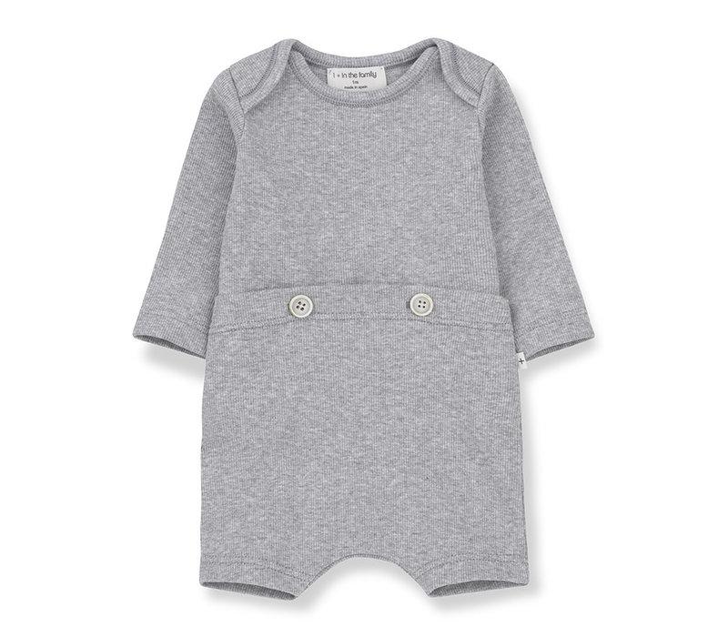 1+ in the Family Bono jumpsuit Grey melange