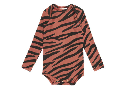 Maed for mini Maed for Mini Blushing Zebra Romper