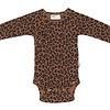 Maed for mini Maed for Mini Chocolate Leopard Newborn Romper