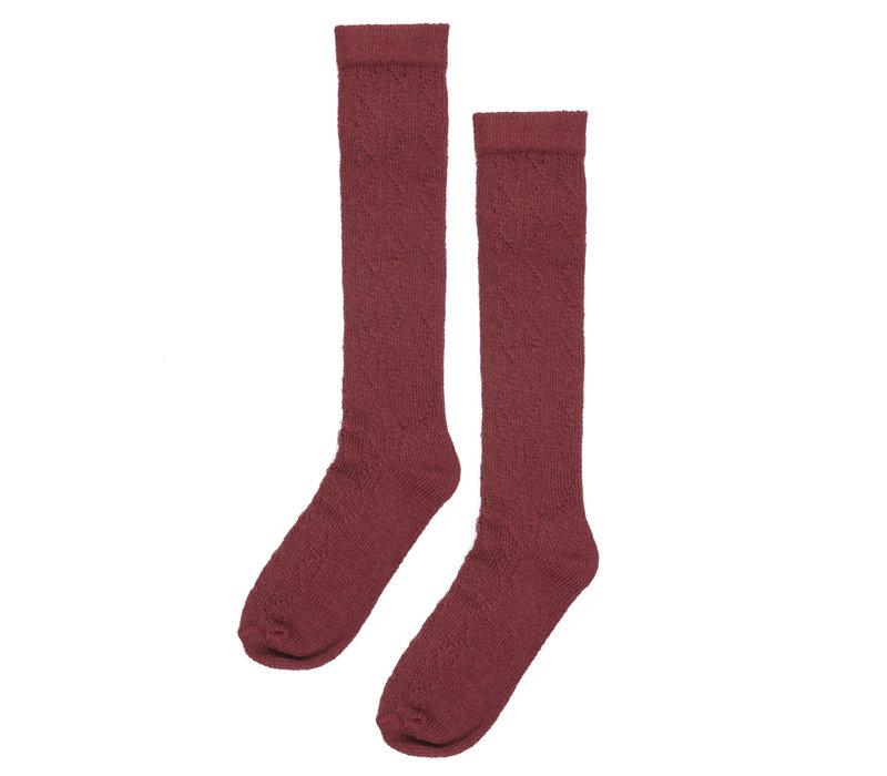 Maed for mini Tipsy Tapir Knee Socks