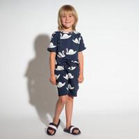 Snurk Swan Lake Panda Shorts