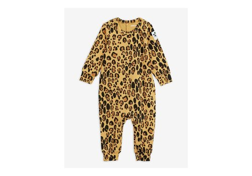 Mini Rodini Mini Rodini Basic Leopard jumpsuit Tencel
