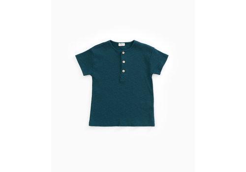 Play Up Play Up Flamé RIB T-shirt blue