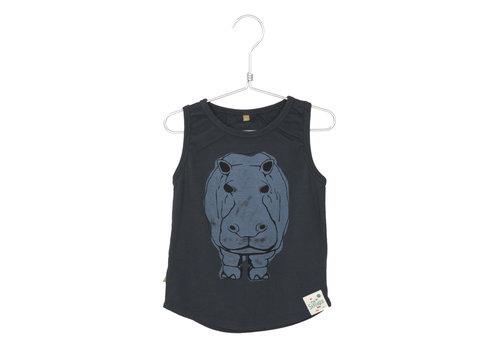 Lötiekids Lotiekids Tank Top rib Hippo