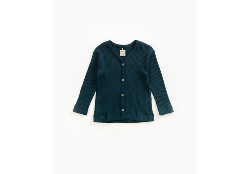 Play Up Play Up Rib Jacket Blue