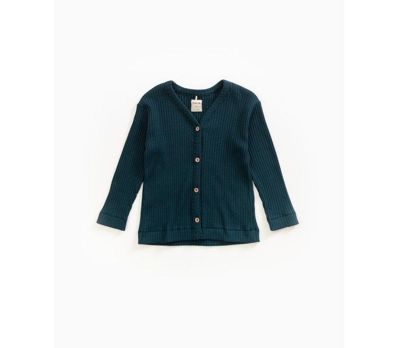 Play Up Rib Jacket Blue