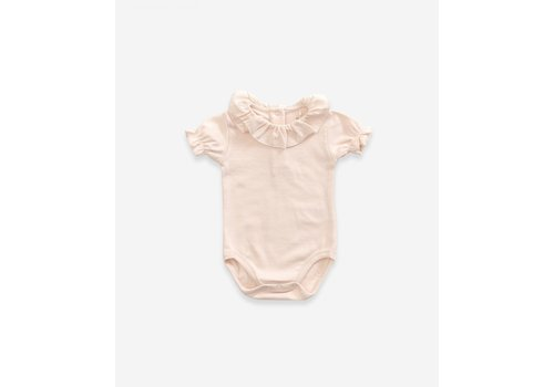 Play Up Play Up Rib Bodysuit soft pink