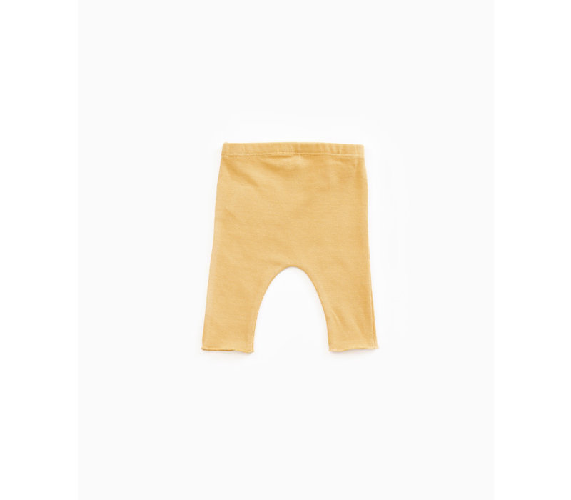 Play Up Jersey Pants with button yellow