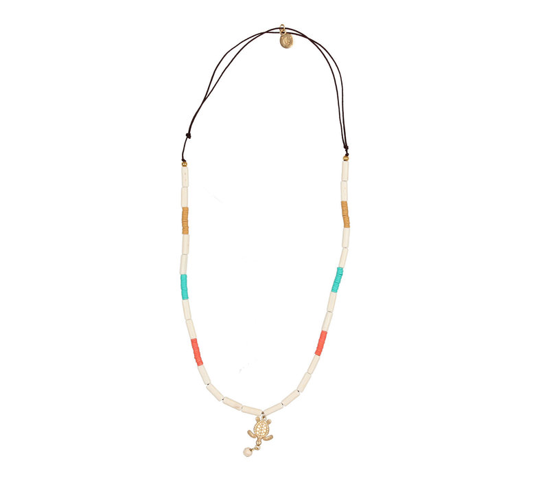 Buho Necklace Turtle
