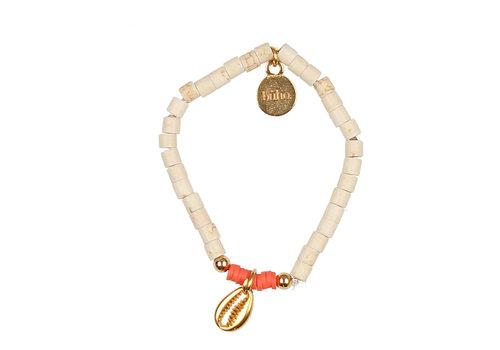 BUHO Buho Bracelet Shell Coral