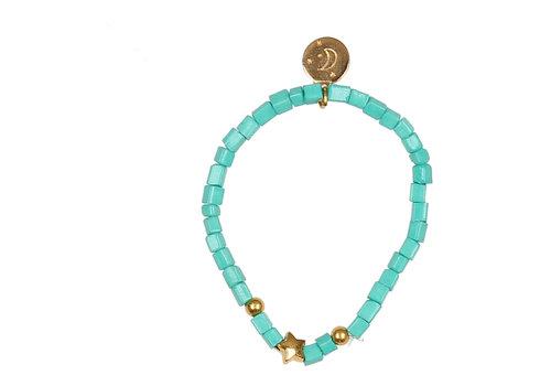 BUHO Buho Bracelet Star Aqua